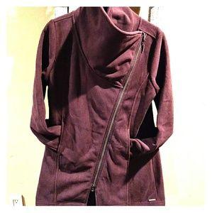 Mondetta plum fleece coat L
